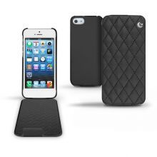 Кожаный чехол Noreve для Apple iPhone 5/5S Couture leather case (Black)