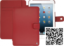ожаный чехол Noreve дл¤ Apple iPad Mini Tradition leather case (Rouge)