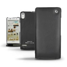 Кожаный чехол Noreve для Hyawei Ascend P6 Tradition leather case (Black)