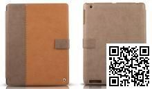 Чехол Zenus для Apple iPad New Masstige E-NOTE Diary Series (Camel)