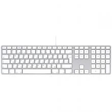 Клавиатура Apple Keyboard with Numeric Keypad MB110