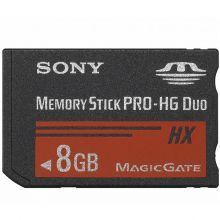 Карта памяти Sony Memory Stick PRO Duo Mark 2 8Gb (MS-MT8G) Original