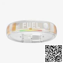 Ѕраслет дл¤ iPhone Nike+Fuelband XL Clear/White