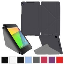 Чехол rooCASE Google Nexus 7 FHD Origami SlimShell Folio Case Cover - Grey
