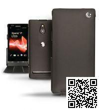 Кожаный чехол Noreve Tradition Sony Xperia P (Black)
