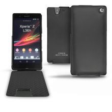 Кожаный чехол Noreve для Sony Xperia Z Tradition leather case (Black)