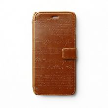 Чехол Zenus для Apple iPhone 5/5S/SE Masstige Lettering Diary Series (Brown)