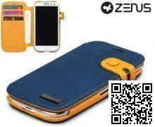 Чехол Zenus для Samsung GALAXY S3 Masstige Color Edge Diary (Navy)