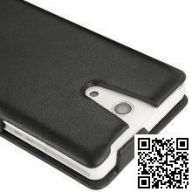 Кожаный чехол Noreve для Sony Xperia ZR Tradition leather case (Black)