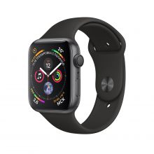Часы Apple Watch Series 4 GPS 40mm Aluminum Case with Sport Band (Серый Космос/Черный)