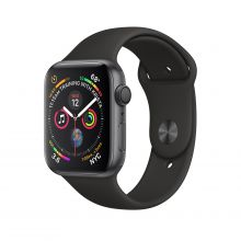 Часы Apple Watch Series 4 GPS 44mm Aluminum Case with Sport Band (Серый космос/Черный)