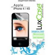 «ащитна¤ пленка LuxCase дл¤ Apple iPhone 4/4S Front & Back Jazz