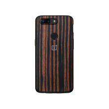 Чехол OnePlus 5T Ebony Wood Bumper Case
