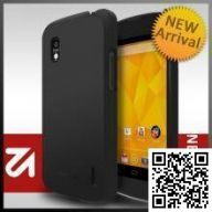Чехол Rearth Ringke Slim Case для LG Nexus 4 (SF Black)