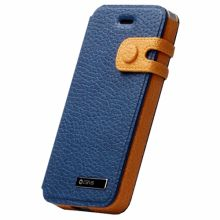 Чехол Zenus для Apple iPhone 5/5S Masstige Color Edge Diary Series (Royal Navy)