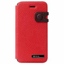 Чехол Zenus для Apple iPhone 5/5S Masstige Color Edge Diary Series (Red Wine)