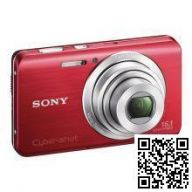 Sony Cyber-shot DSC-W650 (Red)