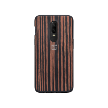 Чехол OnePlus 6 Bumper Case Ebony Wood