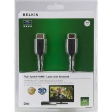 абель Belkin High Speed HDMI F3Y021bf5M 5m (Black)