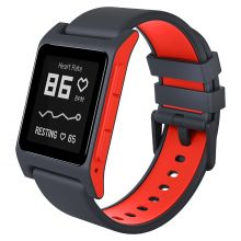 Pebble 2 + Heart Rate (Black/Flame) - умные часы