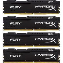 ћодули пам¤ти 32GB (4X8) DDR4 2666 MHz Kingston HyperX Fury (HX426C15FBK4/32)