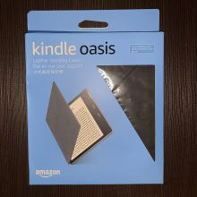 Уценка Amazon Kindle Oasis 2017 Leather Cover (Black)