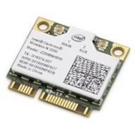 Контроллер Mini PCIE Intel 2230 (2230BNHMW) WiFi (b/g/n) Bluetooth 4.0 +2ant(half+full)