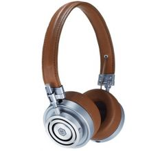 Ќаушники Master & Dynamic MH30 (Silver Metal/Brown Leather)