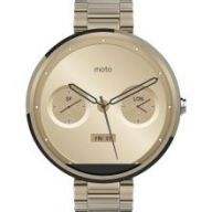Motorola Moto 360 (Steel) Champagne Gold 18 mm - умные часы дл¤ Android