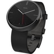 Motorola Moto 360 (Black) leather - умные часы дл¤ Android