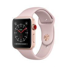 Часы Apple Watch Series 3 Cellular 38mm Gold Aluminum Case with Pink Sport Band