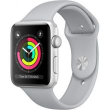 Часы Apple Watch Series 3 Cellular 42mm Aluminum Case with Sport Band (Серебристый/Дымчатый)