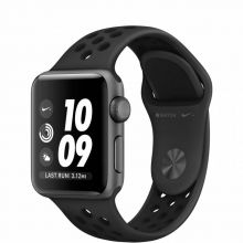 Часы Apple Watch Series 3 42mm Space Gray Aluminum Case with Antracite Nike Sport Band