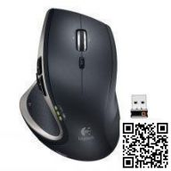 Logitech Performance Mouse MX Black USB-беспроводная мышь