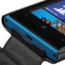 Кожаный чехол Noreve Tradition для Nokia Lumia 920 (Black)