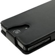 ожаный чехол Noreve Tradition Sony Xperia V (Black)