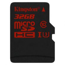 Карта памяти Kingston SDCA3/32GBSP (90/80 Mb/s) microSDHC Class 10 UHS 32GB