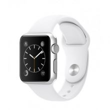 Умные часы Apple Watch Series 1 38mm Aluminum Case with White Sport Band