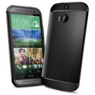 Чехол SGP SPIGEN Slim Armor для HTC One (M8) (Black)