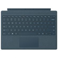 лавиатура с подсветкой Microsoft Surface Type Cover 5 Signature Alkantara (Cobalt Blue)