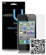 «ащитна¤ пленка SGP Ultra Crystal Clear дл¤ Apple iPhone 4G (гл¤нцева¤)
