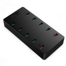 Сетевая зарядка Aukey 10 Port USB Wall Charger With Qualcomm Quick Charger 3.0