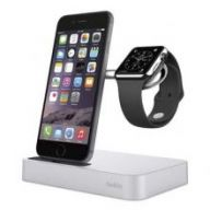 Док-станция Belkin Valet Charge Dock для iPhone/Apple Watch (Silver)