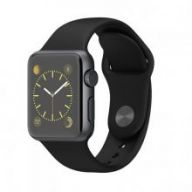 Умные часы Apple Watch Series 2 38mm Space Gray Aluminum Case with Black Sport Band