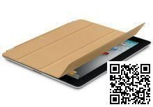 Apple iPad Smart Cover Leather Tan MC948