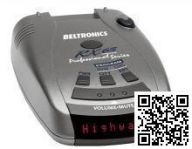 Beltronics RX65 Red
